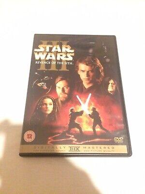 STAR WARS III: REVENGE OF THE SITH - DVD - LIKE NEW