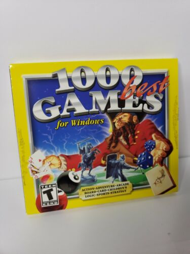 1000 Best Games for Windows - PC Computer Games * Free Shipping *