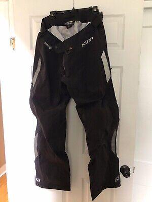 Klim Torrent Motorcycle Mens Waterproof Over Pants Black 36 Gore-Tex New w/o tag Gore Tex Motorcycle Pants