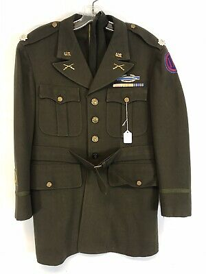 WW2 US Army 9th Corps Uniform Jacket Ltc. Named Excellent