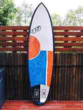 HS Haydenshapes Shred Sled 5'8 surfboard Chermside Brisbane North East Preview