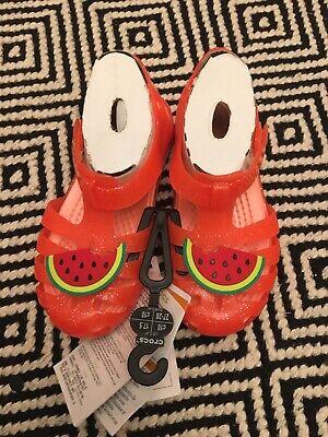 crocs isabella charm sandals size c10
