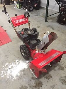 "MTD snowflite 24"" snowblower"