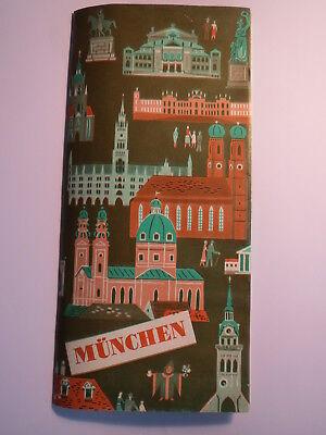 München - 1953 - Stadtplan