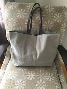 """"""" White  Stuff"""" tote bag"""