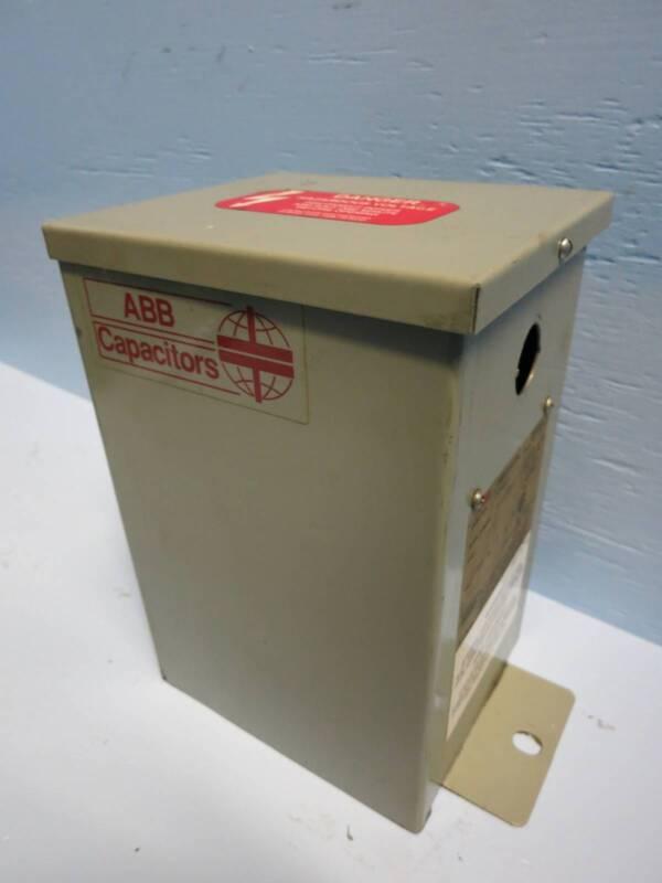 ABB Control Inc. C484G22.5 22.5 kVAR 480V 60Hz 3PH CLMD-43 Capacitor 22.5kVAR