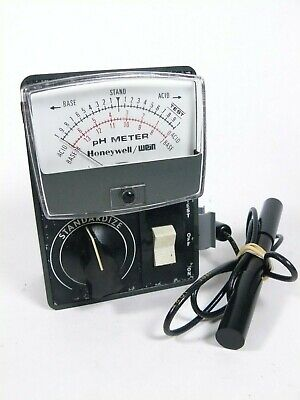 Vintage Honeywell Wein Ph Meter Tested Works