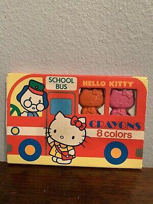 Hello Kitty School Bus (VTG Bus School Hello kitty crayons kit)