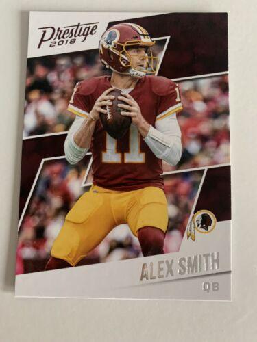 2018 Prestige Alex Smith #34 Washington Redskins NFL Trading Card