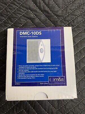 M&S Systems DMC-10DS Intercom Door Station System Door Station