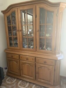 Solid Timber Buffet Hutch