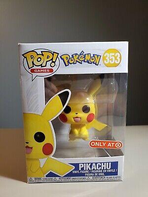 FUNKO POP PIKACHU 353 TARGET EXCLUSIVE - New In Box