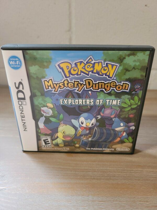 Pokemon Mystery Dungeon Explorers of Time DS 2008 Replacement Case NO GAME
