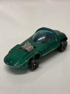 Hot Wheels Redline Silhouette 1967 Green Sweet Sixteen Made in Hong Kong