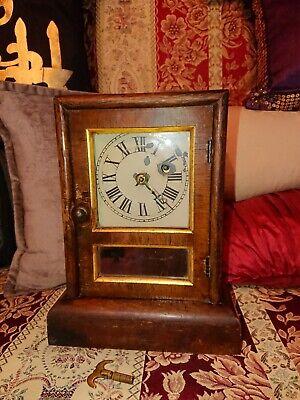 1860 Seth Thomas Connecticut 30 Hour Mantel Clock