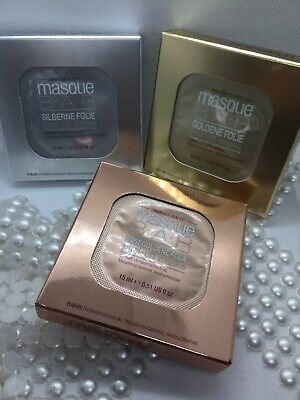 Masque BAR Peel-Off Maske 3er Set 3 x 15 ml gold, silber, rose (Masken Masque)