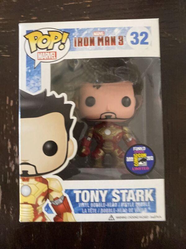Funko Pop 2018 SDCC Shared Exclusive Mint Marvel Studios #338 Iron Man Mark 1