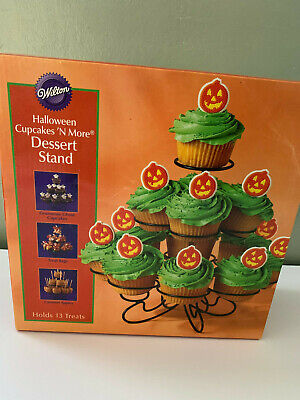 Wilton Halloween Cupcake Stand (WILTON HALLOWEEN CUPCAKES 'N MORE DESSERT STAND   new in)