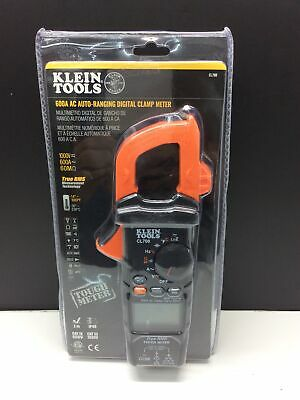 Klein Tools Cl700 600a 1000v Ac True Rms Auto-ranging Digital Clamp Meter