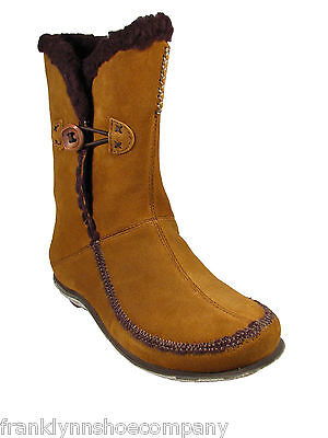 Cushe Furrytale Hi Sizes 5-11 Womens Shoes Brown Suede Leather Mid Fashion Boots