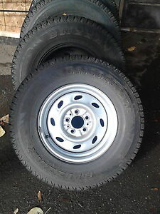 Winter Truck Tires on Rims
