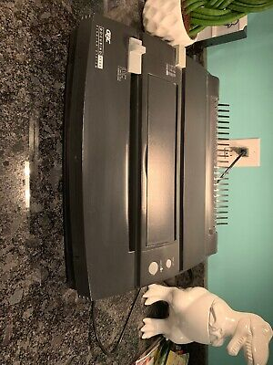 Gbc Docubind P300 Quartet Electric Hole Punch And Binding System Testedworking