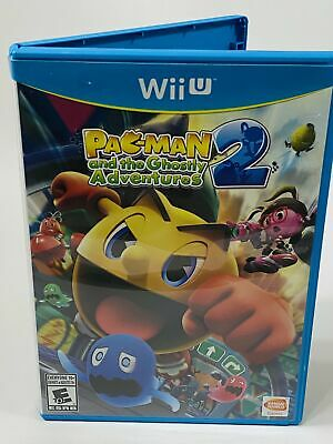 Pac Man 2 And The Ghostly Adventures Nintendo Wii U Tested and Working