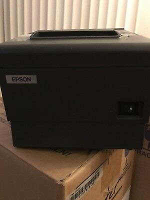 Four Epson Tm-t88iv Point Of Sale Thermal Printer