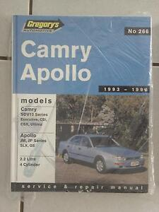 266 Gregory's Camry Apollo Workshop Manual Narangba Caboolture Area Preview