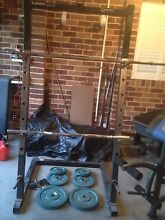 Squat rack and bench Salamander Bay Port Stephens Area Preview