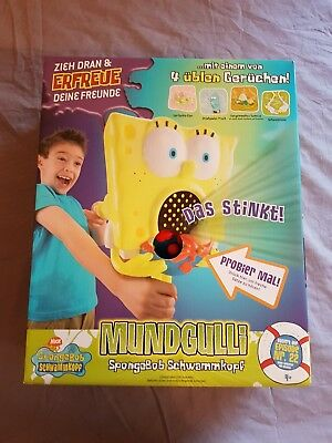 Spongebob Mundgulli mit 3 Standfiguren Stinkspielzeug Stinky Toy Neu Mattel 2006