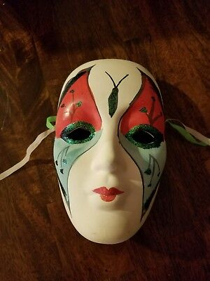 MARDI GRAS CERAMIC MASK, 5