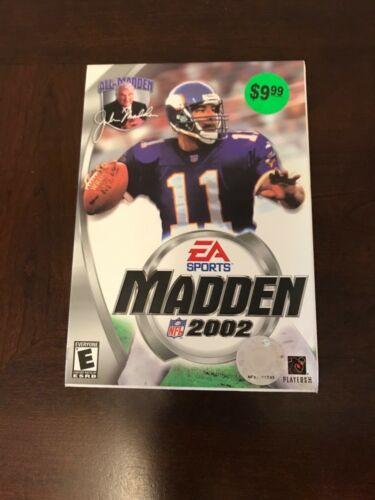 Madden 2002 PC CD-ROM Brand New Sealed