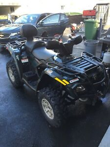 2008 can am outlander 400 2-up