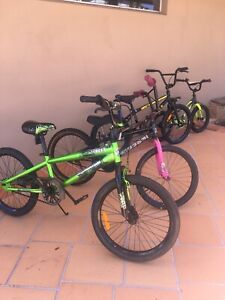Kids Bikes. Some Like New!!!
