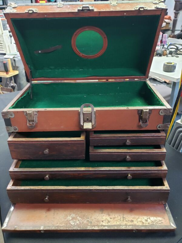 Vintage National 5 Drawer Machinist Tool Chest