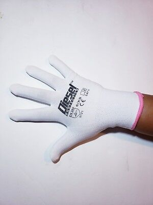 Diesel Protection Nylon Gloves Small And Medium 6 Or 12 Pair
