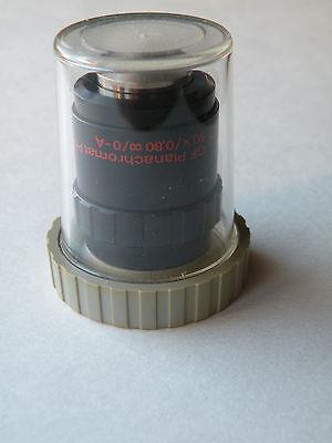 Zeiss Polarizing Objective Gf Plan 50x 080 Inf.0 -a Pol Cf250 Microscope M25