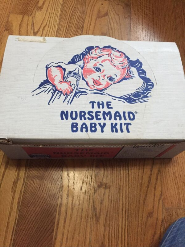 VINTAGE..The Nursemaid Baby Kit Formula Layette Kit.. Sterizalation Made Easy