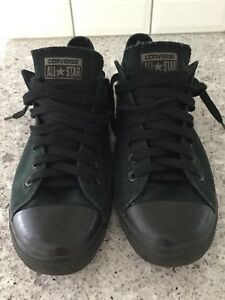 Black on black Converse/Cons shoes