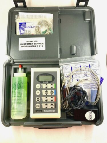 M.E.D.S MEDS-4-INF+ Neuromuscular Electric Stimulator w/ Case & Extras!