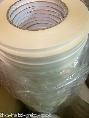 6 Rolls Adhesive Double-sided Tape Clear 14 Wide 60 Yards Pressure Sensitive
