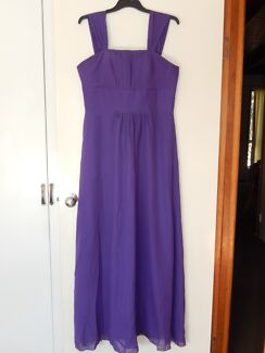 Purple Formal Dress - Size 14-16 Centenary Heights Toowoomba City Preview