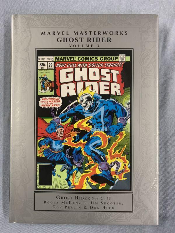 MARVEL MASTERWORKS Ghost Rider Volume #3 Hard Cover (2021) Global Shipping