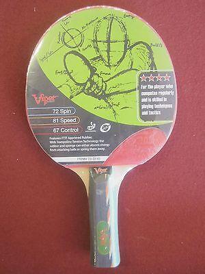 Viper Leading Edge Ping Pong Paddle 70-3110 Table Tennis Racket