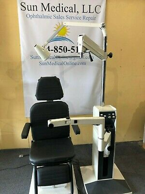 Reliance 5200 Chair Stand With Zeiss Sl With Tonometer Topcon Phoropter