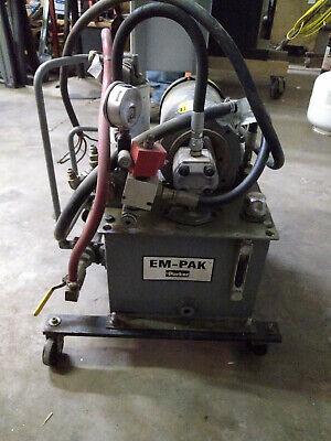 Hydraulic Power Unit W Baldor Motor