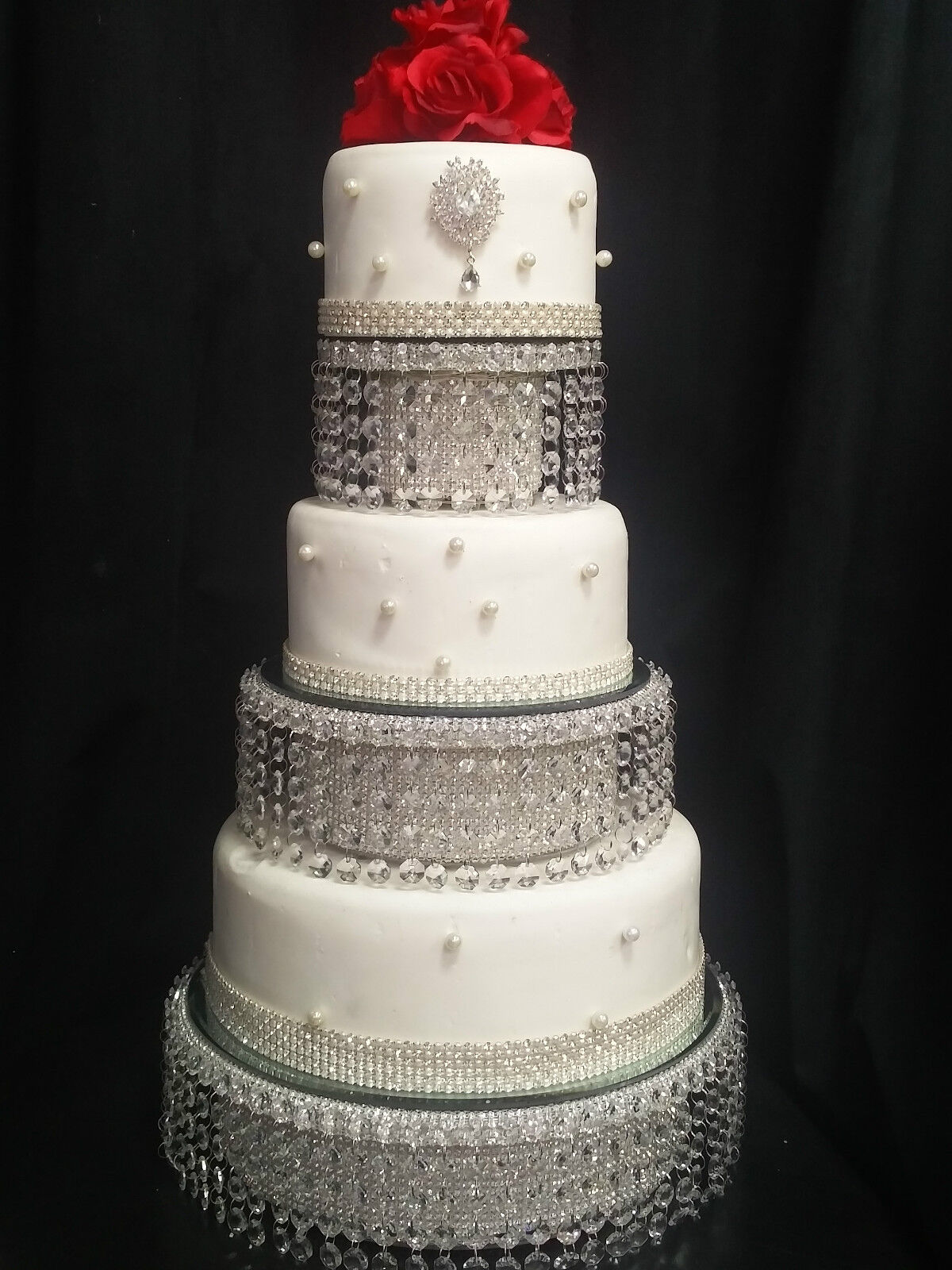 Diamante Wedding Cake Stand