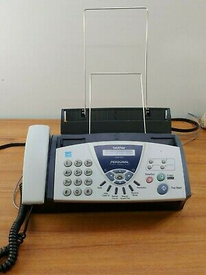 Brother Compact Fax 575 Personal Plain Paper Fax Phone And Copier - Tested