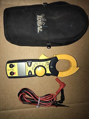 Ideal 61-746 Clamp-pro 600 Amp Clamp Meter With True Rms Excellent Cond.